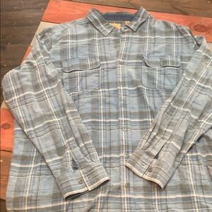 3 FOR $20 Red Head Ranch Blue Flannel Shirt 2XLT